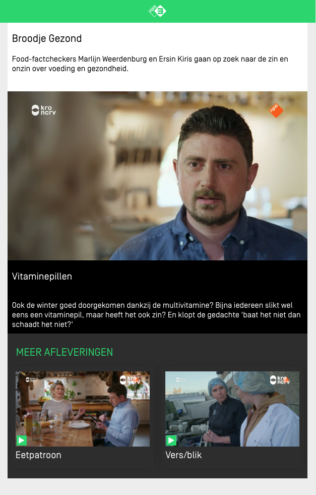 NPO3 Webonly content